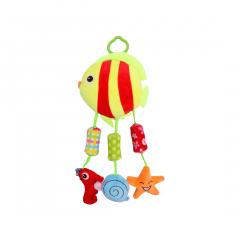 Jucarie zornaitoare din plus, Campanula Fish, 32 cm, Lorelli