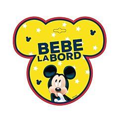 Semn auto Bebe la Bord - Minnie SEV9627