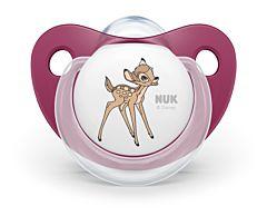 Set 2 suzete 18-36 luni  Bambi Nuk