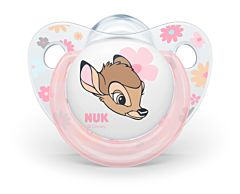 Set 2 suzete 0-6 luni Bambi Nuk