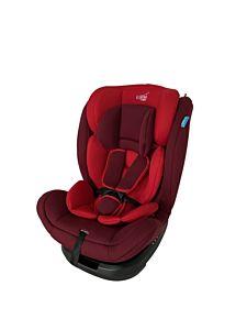 Scaun auto rotativ cu isofix 0-36 kg, rosu
