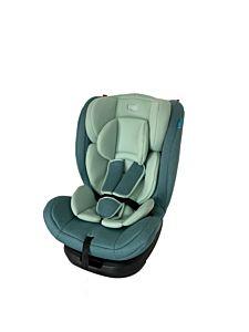 Scaun auto rotativ cu isofix 0-36 kg, verde