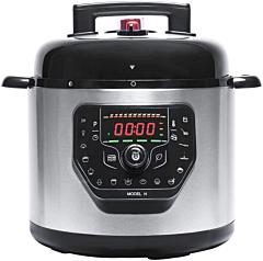 Multicooker cu gatire la presiune Cecotec GM H, 1000 W, 6 L, 19 de programe, Vas antiadeziv detasabil