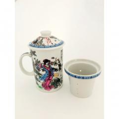 Set 3 piese ceai multicolor