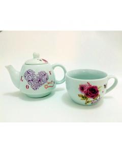Set ceai ceramica 6001C