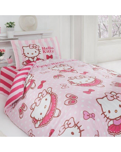Lenjerie Hello Kitty Ballerina, 160x220 cm