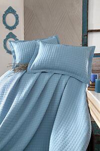 Cuvertura StoreBox, 250x260 cm, + 2x fata perna, Turquoise