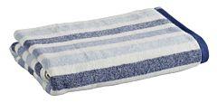 Prosop baie 70x140 cm bleu dungi