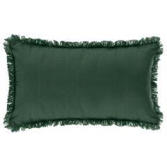 Perna cu franjuri 30X50 cm verde