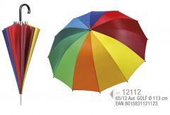 Umbrela golf adulti multicolora, Perletti Ref. 12112
