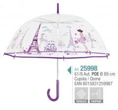 Umbrela adulti transparenta Paris Ref. 25998