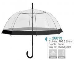 Umbrela adulti transparenta Paris Ref. 26019