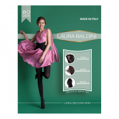 Dres Second Skin, 80 DEN, 2/5, Laura Baldini