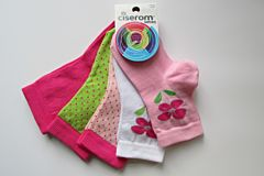 Sosete copii Ciserom Set 5 fete 23/27 Art.326