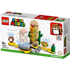 LEGO Super Mario Set de extindere Pokey in Desert cu agitare de ciocan 71363