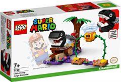 LEGO Super Mario Set de extindere intalnirea din jungla a lui Chain Chomp 71381