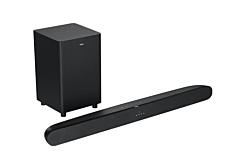 Soundbar TCL Alto TS6110 + Subwoofer, max 120W, 2.1 canale audio, Dolby Digital, 80 cm, Negru