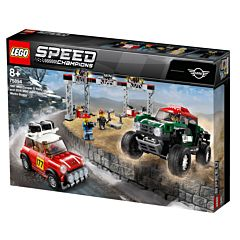 LEGO Speed Champions Mini Cooper S Rally 1967 si MINI John Cooper Works Buggy 2018 75894