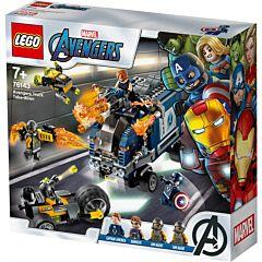 LEGO Super Heroes Razbunatorii Distrugerea Camionului 76143