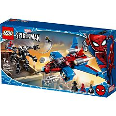 LEGO Marvel Spider-Man Spider-Jet versus Robotul Venom 76150