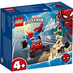 LEGO Marvel Spider-Man Confruntarea dintre Omul Paianjen si Sandman 76172