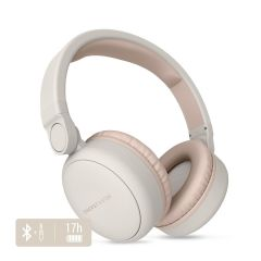 Casti audio over ear Energy Sistem ENS445622, Bluetooth, Microfon, Bej