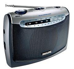 Radio portabil AE2160/00C Philips, Argintiu