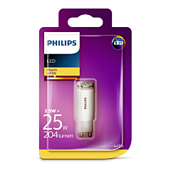 Bec Philips Led G9 CAPULE 25W 12V 2700K