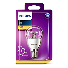 Bec Philips Led P45 40W E14 2700K