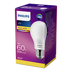 Bec Philips Led A60CL 60W E27 INC 2700K