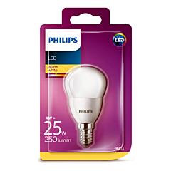 Bec Philips Led P45 25W E14 MAT 2700K