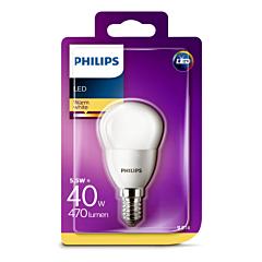 Bec Philips Led P45 40W E14  MAT 2700K