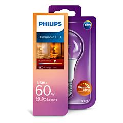 Bec Philips Led A60 60W E27 C DIM