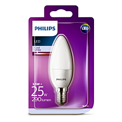 Bec Philips Led B35 25W E14 MAT 4000K