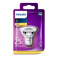 Bec Philips Led GU10CL SPOT 25W 2700K