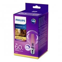 Bec Philips Led G93CL 60W E2 DIM 2700K