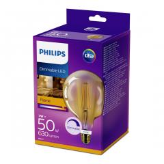 Bec Philips Led GLOB VN 50W E27 DIM 2000