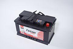 Acumulator auto 80ah en 740a Foton