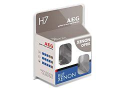 AEG 2x blue xenon optik h7