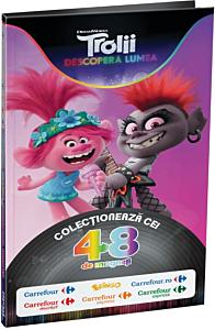 Album colector magnetic Trolli, 19.5 x 34 x 62.3 cm