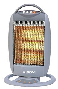 Radiator cu halogen Orion OHH-120, 1200 W, 3 trepte de putere, Oscilare, Gri