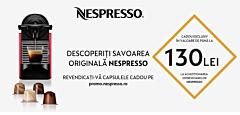 Espressor INISSIA Nespresso,  Rosu, C40 EU, 19bar, 0.7L,  clasa A
