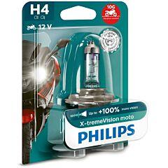Bec moto X-treme Vision h4 12 Philips