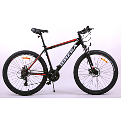 "Bicicleta 27.5"" Rowan Omega, negru-portocaliu"
