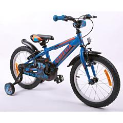 "Bicicleta copii 16"" Master Omega, albastru"