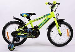"Bicicleta Omega Master 16"", galben"