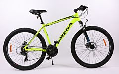 "Bicicleta Omega Rowan 26"", galben-negru"