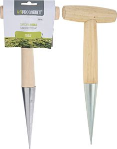 Unealta pentru plantat tip dibber ProGarden, 28.5x11 cm