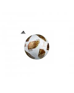 Minge fotbal Adidas World Cup, alb-maro-auriu