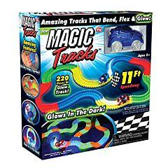 Circuit magic cu masina luminoasa